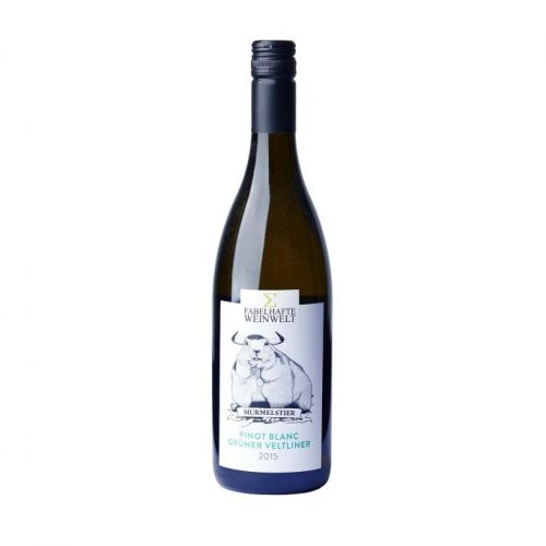 "Pinot Blanc Grüner Veltliner 2015 - ""Murmelstier"""
